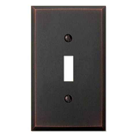 hton bay steps 3 toggle wall plate aged bronze