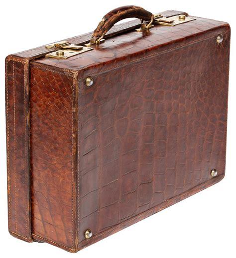 Decorative Suitcase by Alligator Suitcase Midcentury Decorative Suitcases