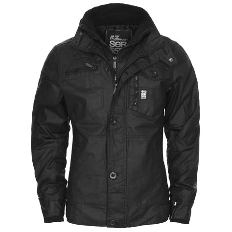 Jaket Parka Premium Classic Parka Best Seller new mens crosshatch jacket zip layer padded