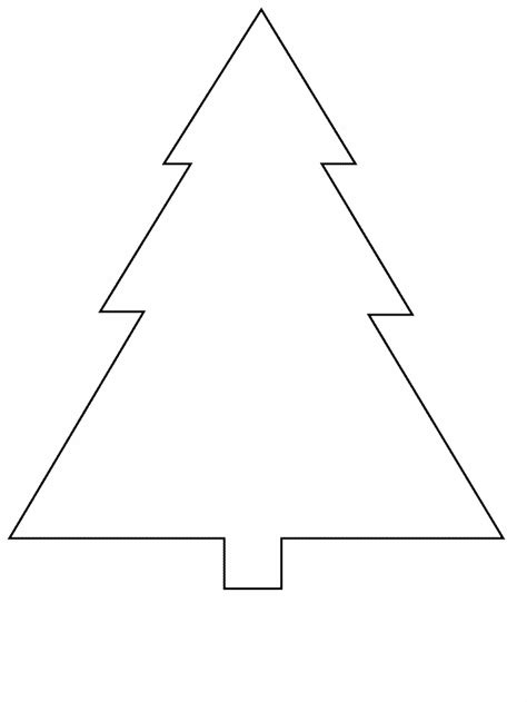 tree simple shapes coloring pages coloring book