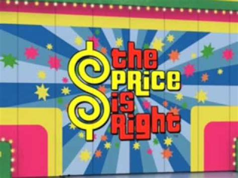 theme to definition game show the price is right theme song youtube