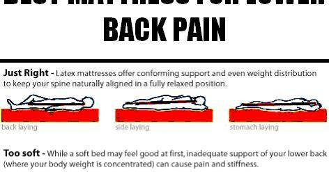 best mattresses for lower back effective ways best mattress for lower back