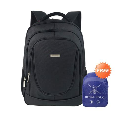 Tas Ransel Royal Polo jual polo club 9191 hitam backpack tas ransel royal polo