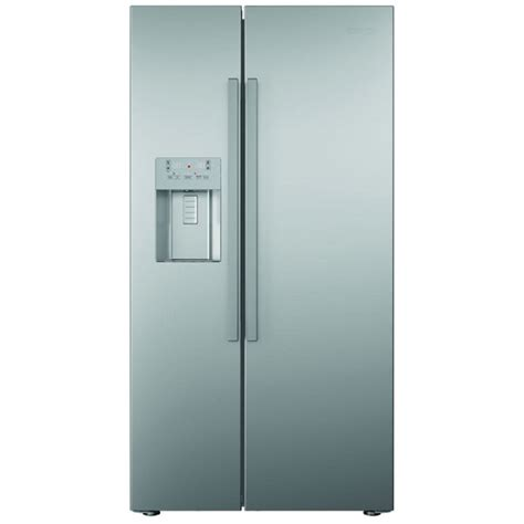 Non Plumbed American Fridge Freezer by Beko Asn541s American Style Fridge Freezer Silver Non