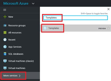 Export Azure Resource Manager Template Microsoft Docs Search Microsoft Templates