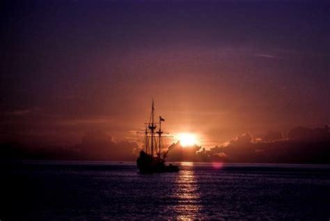 pirate ship sunset: mushmich: galleries: digital