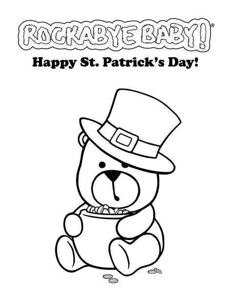 st patrick coloring pages coloring pages for kids