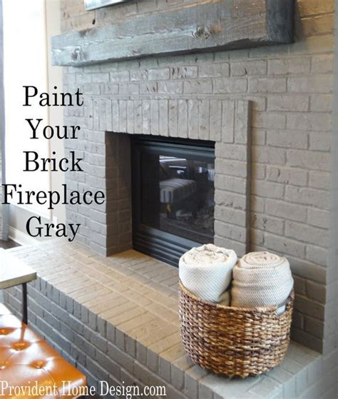 Change Color Of Brick Fireplace by 17 Best Ideas About Painted Brick Fireplaces On