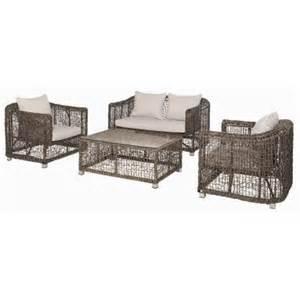 salon de jardin arum 4 pi 232 ces table basse 2 fauteuils