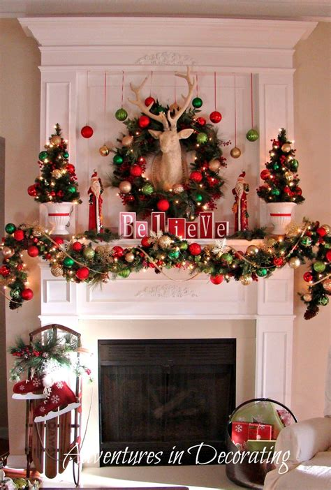 a whole bunch of christmas mantels 2013 style estate