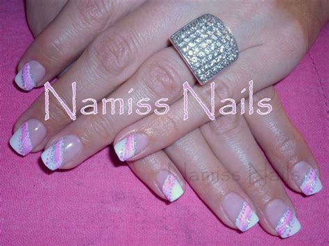 Modele Ongle Paillette by Deco Ongles Paillettes