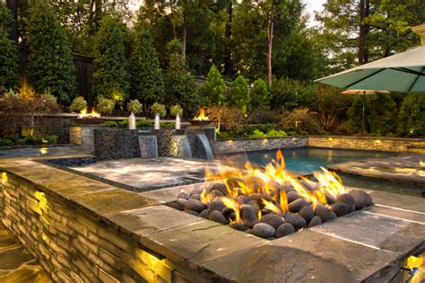 outdoor living mid state pools collierville modern geometric pool spa outdoor living