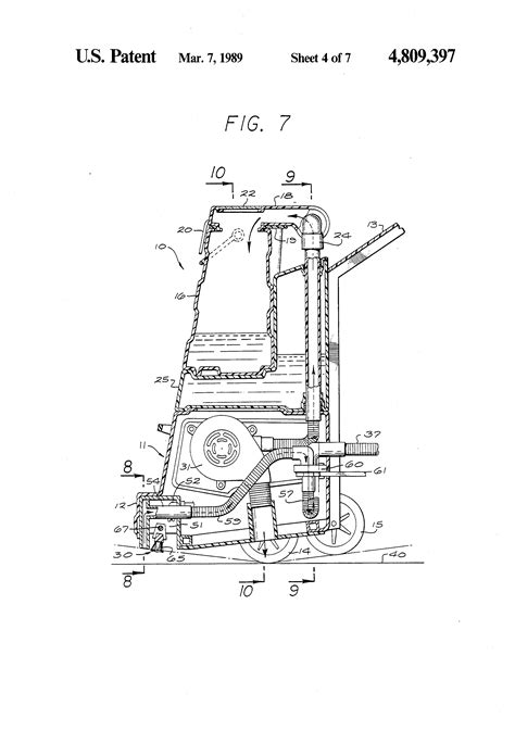 Rug Doctor Vacuum Patent Us4809397 Rug And Carpet Cleaner Google Patents