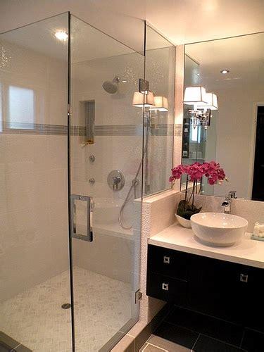 floating bathroom vanity transitional bathroom brown