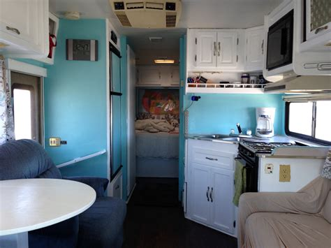 rv renovation ideas and pictures class c our 1994 class c motorhome renovation heath and alyssa