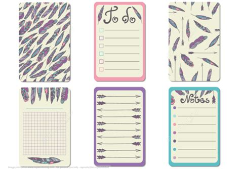 the paper studio note card templates printable scrapbook notes and cards with feathers in