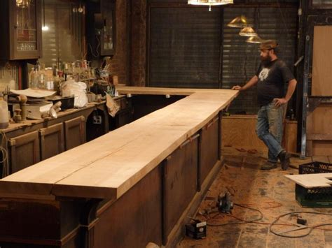 making a bar top photo gallery jalopy tavern