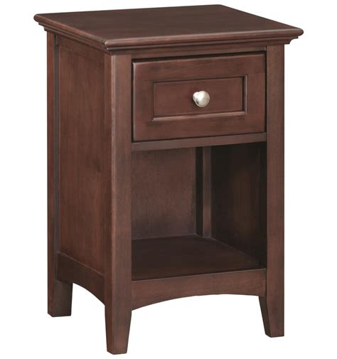 18 Inch Nightstand 18 Inch 1 Drawer Nightstand Bare Wood Wood Furniture Groton Ct