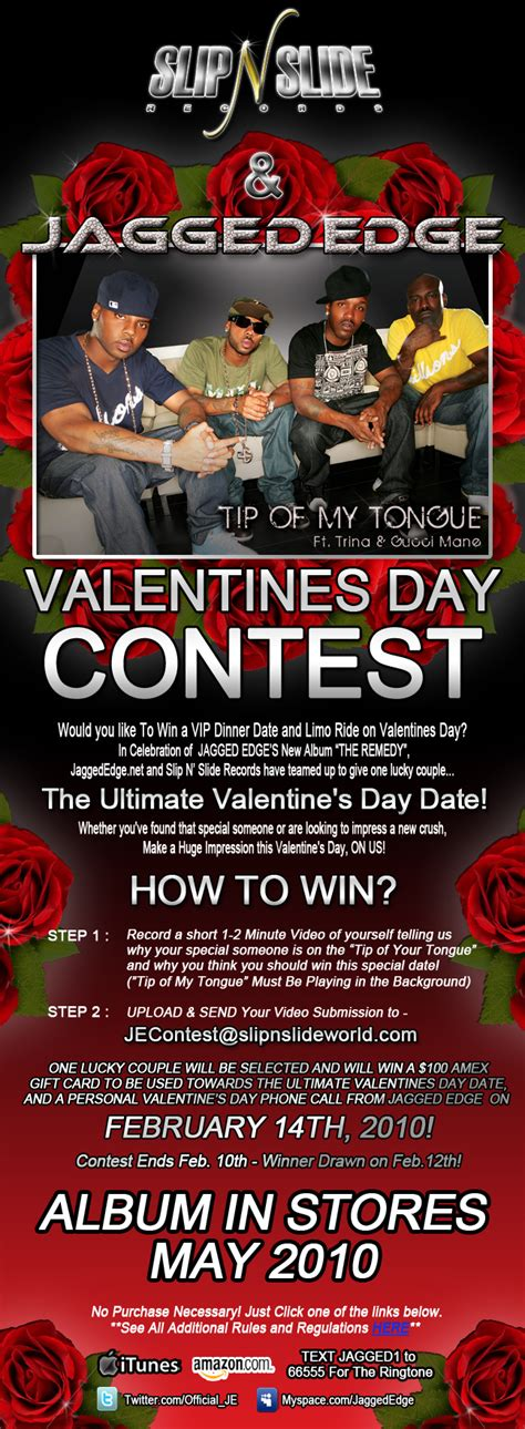 jagged edge launches valentine s day contest thisisrnb