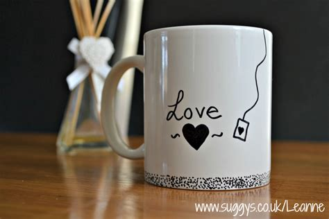 mug design sharpie mug diy marker pen design how to do it