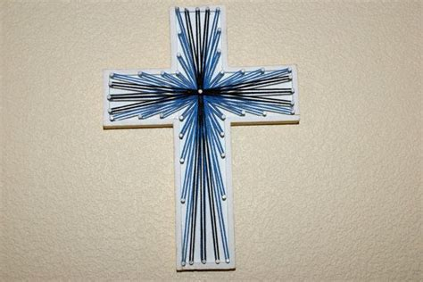 String Cross - 394 best images about string w nails or tacks on