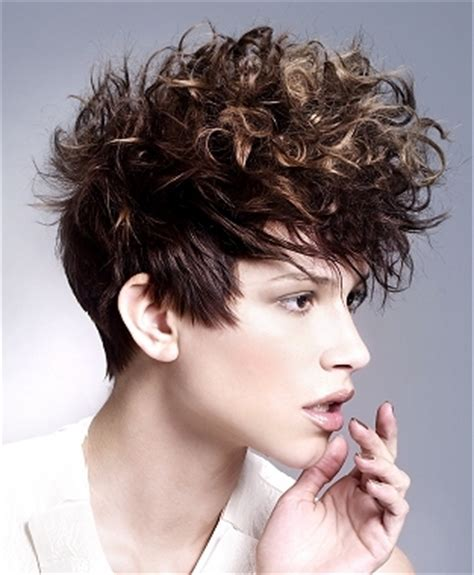 short punk haircuts for curly hair 2010 curly punk hair styles