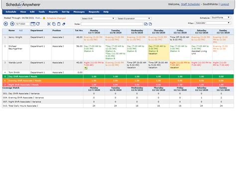 9 sample of work schedule template commerce invoice