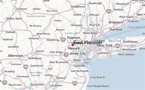 map usa hanover east hanover location guide