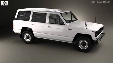 1980 nissan patrol nissan patrol 160 1980 by 3d model store humster3d com