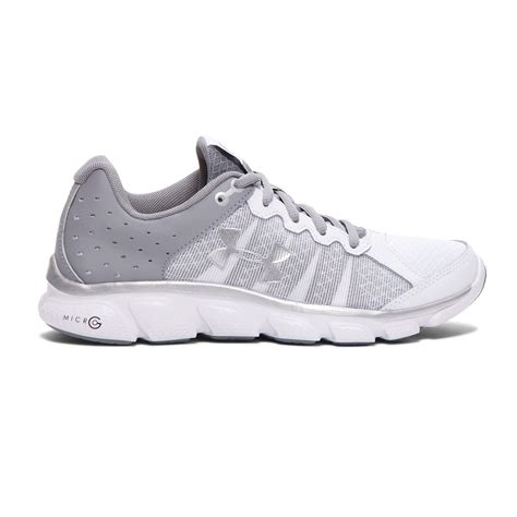 armor athletic shoes armour women s micro g assert 6 running shoe