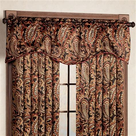 paisley curtains window treatments bali paisley room darkening window treatments
