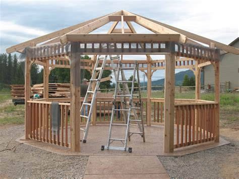 outdoor gazebo kits improve your outdoor living space with gazebo kits