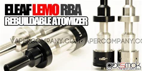 Lemo Rba Atomizer Authentic eleaf lemo rba atomizer 33 95 vape deals