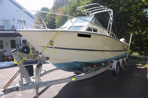 hydra sport boats for sale in ma 1989 used hydra sports 2500 wa walkaround fishing boat for