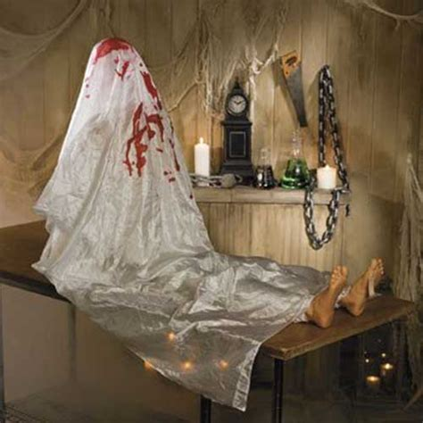 Scary Decorations by 80 Best Scary Indoor Outdoor House