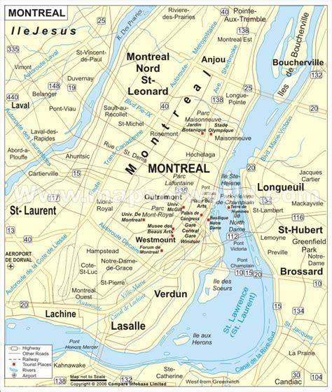 montreal carte  image satellite