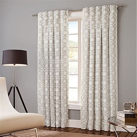 select curtains buy designer s select claudia 95 inch back tab window