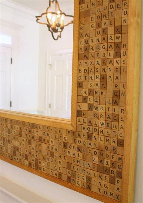 scrabble bathroom tiles 25 best ideas about tile mirror on pinterest tile