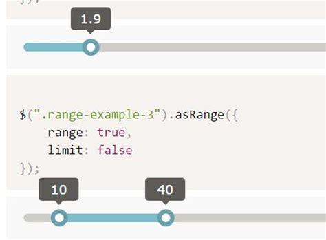 jquery div slider jquery range slider plugins jquery script