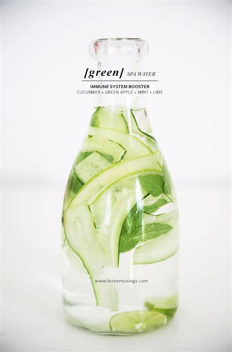Apple Lime Detox Water by 17 Best Images About D R I N K S On Lemon