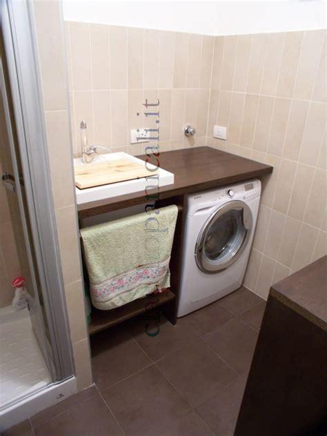 mobile bagno per lavatrice mobile da bagno lavatrice asciugatrice con portabiancheria