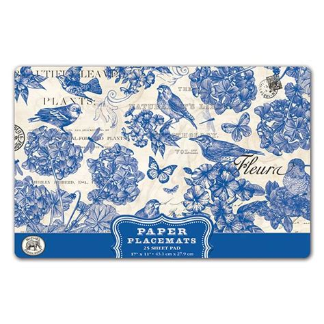 michel design works home fragrance diffuser indigo cotton michel design works indigo cotton paper placemats