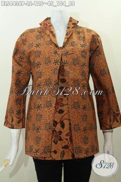 Jas Kombinasi Dua Warna Jas Murah Jas High Quality Jas Terbaru Baju Blus Batik Elegan Motif Klasik Model Jas Baju Kerja