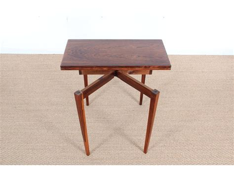 mid century fold out desk mid century rosewood fold out side table for sale at pamono