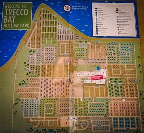 map picture of parkdean trecco bay holiday park