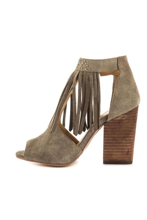 fringe booties laundry boho fringe bootie from houston by shoe