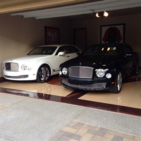 bentley garage mayweather s garage is packed with mulsanne s