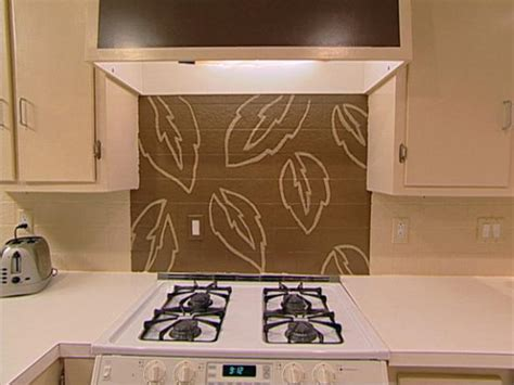 hand painted tiles for kitchen backsplash handpaint a kitchen backsplash hgtv