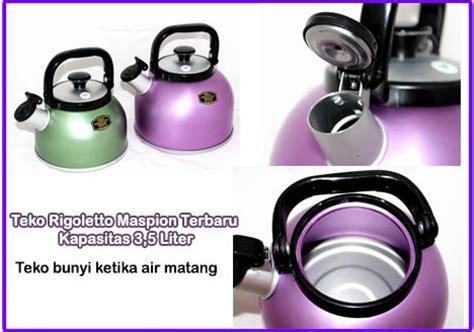 Teko Air Masak Aluminium 3 5 Liter alat dapur terbaru teko unik anti gores dan bisa bunyi
