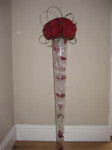 Plastic Vase Cylinder Large Flower Arrangements Tall Flower Arrangements For